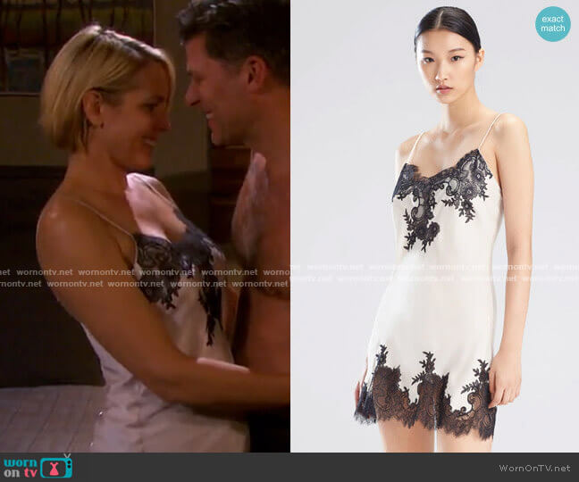 Natori L'Amour Chemise worn by Nicole Walker (Arianne Zucker) on Days of our Lives