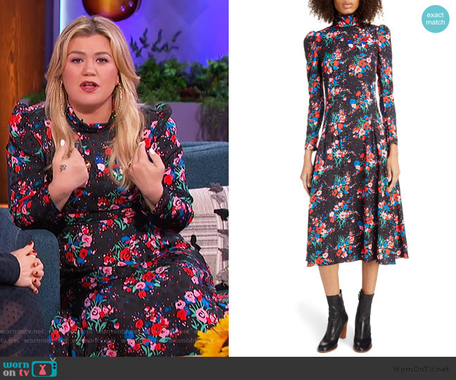 The 40's Dress by Marc Jacobs worn by Kelly Clarkson  on The Kelly Clarkson Show