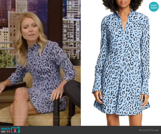Marcella Dress by A.L.C. worn by Kelly Ripa  on Live with Kelly & Ryan