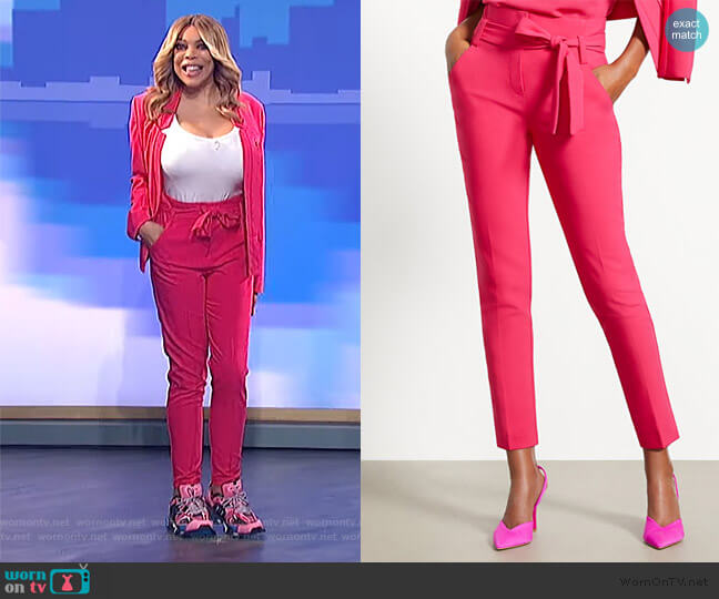 Madie Pants by New York & Company worn by Wendy Williams  on The Wendy Williams Show