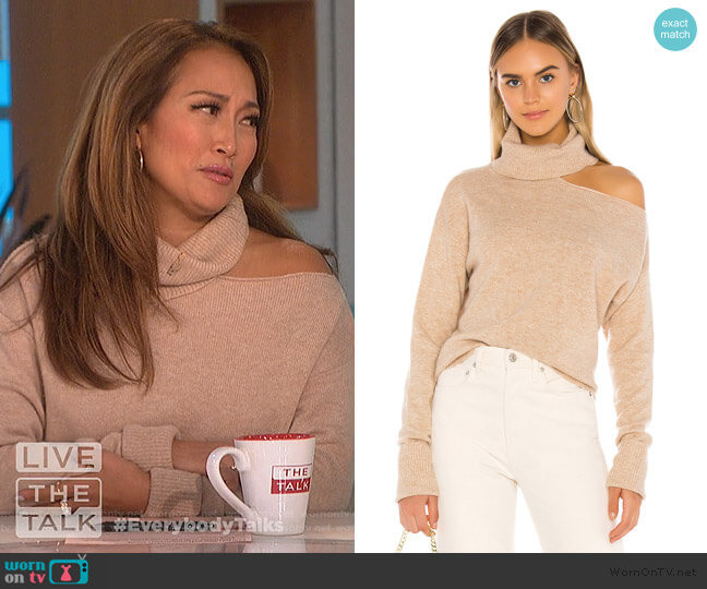 Raundi Sweater by Paige worn by Carrie Inaba  on The Talk