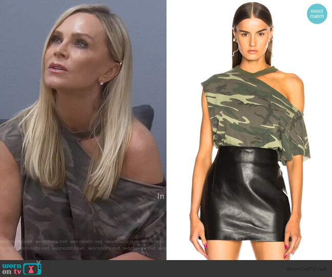 Axel Top by RTA worn by Tamra Judge  on The Real Housewives of Orange County