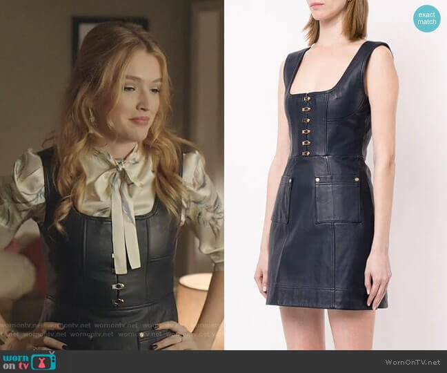 Sweet Street Mini Dress by Alice McCall worn by Kirby Anders (Maddison Brown) on Dynasty