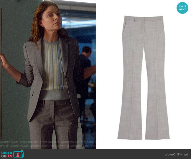 Theory Demitria Pants worn by Taylor Rentzel (MacKenzie Meehan) on Bull