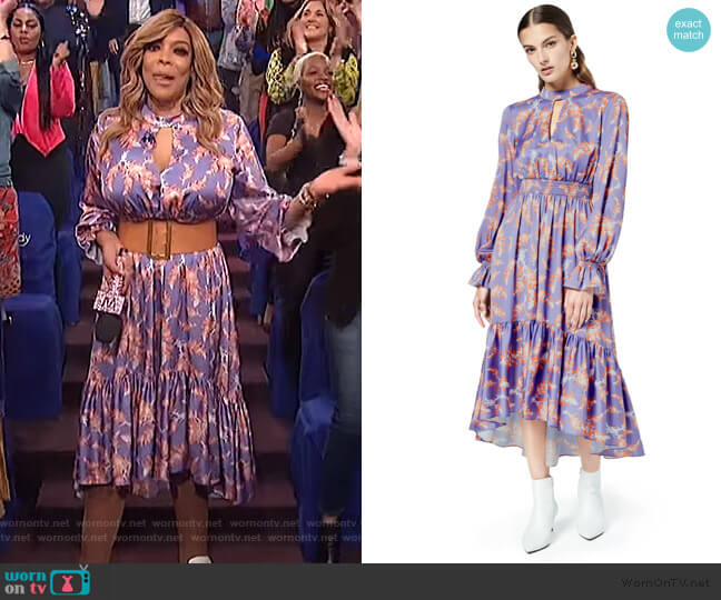 Lisbon Sisters Dress by Three Floor worn by Wendy Williams  on The Wendy Williams Show