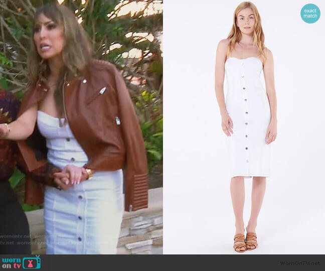 Liza Dress by Veronica Beard worn by Kelly Dodd  on The Real Housewives of Orange County