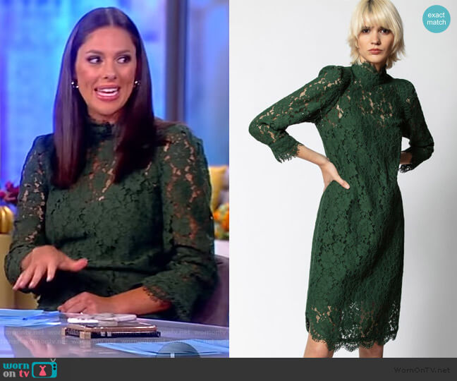 Rescure Lace Dress by Zadig & Voltaire worn by Abby Huntsman  on The View