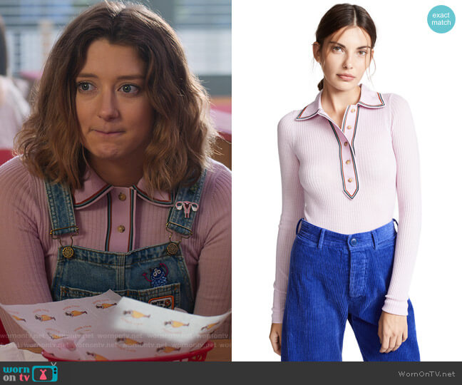 Collared Sweater by Acne Studios worn by Nonnie Thompson (Kimmy Shields) on Insatiable
