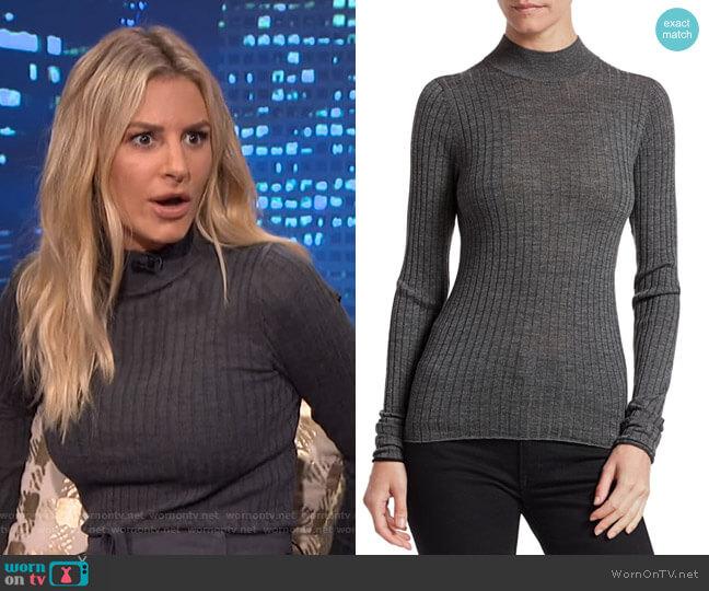 Kulia Turtleneck Sweater by Acne Studios worn by Morgan Stewart  on E! News