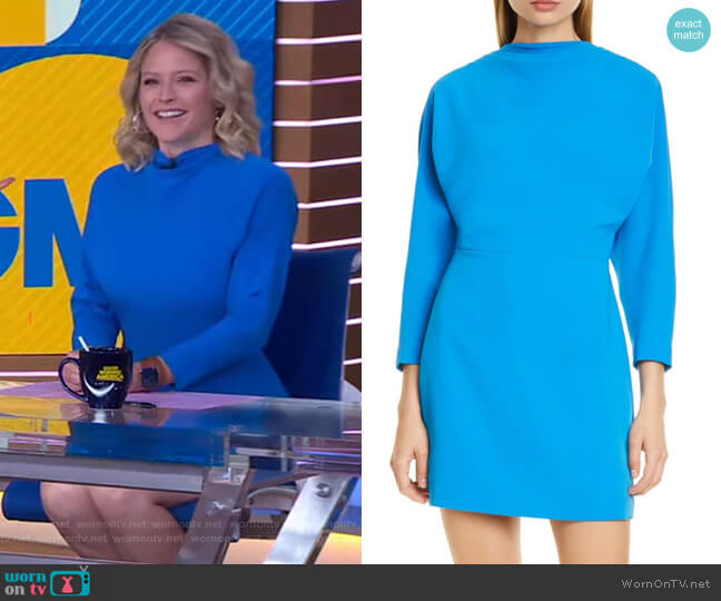 Marin Mini Dress by A.L.C. worn by Sara Haines  on Good Morning America