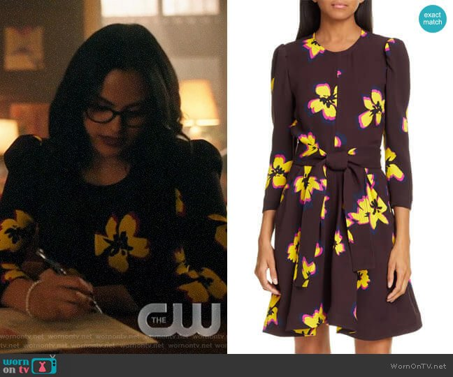 A.L.C. Stella Dress worn by Veronica Lodge (Camila Mendes) on Riverdale