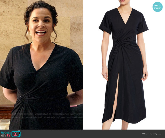ALC Edie Dress worn by Sara Castillo (Lindsay Mendez) on All Rise