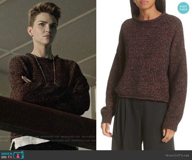 A.L.C. Morrison Sweater worn by Kate Kane (Ruby Rose) on Batwoman