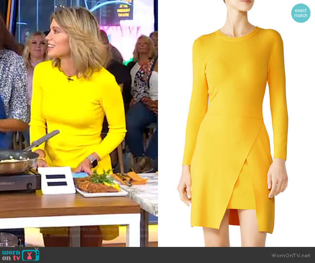 Hadley Dress by A.L.C. worn by Amy Robach  on Good Morning America