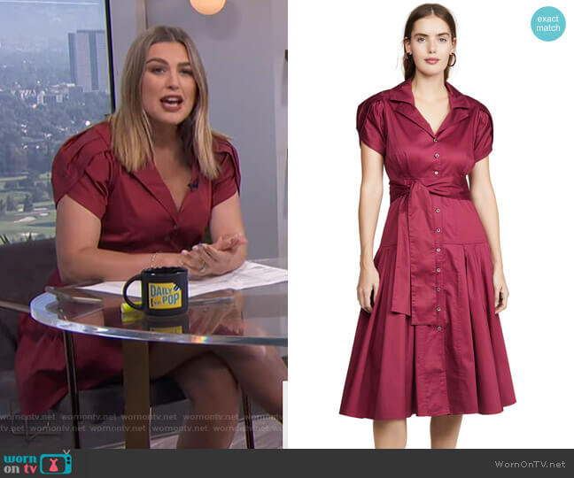 Rosetta Dress by Alexis worn by Carissa Loethen Culiner  on E! News
