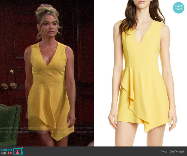 Alice + Olivia Callie Dress worn by Shauna Fulton (Denise Richards) on The Bold & the Beautiful