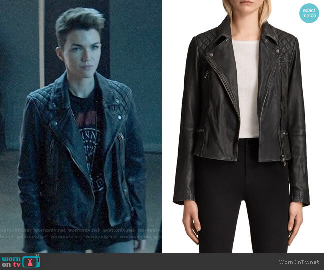 All Saints Cargo Jacket worn by Kate Kane (Ruby Rose) on Batwoman