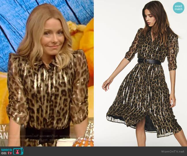 Jozy Dress by Ba&Sh worn by Kelly Ripa  on Live with Kelly & Ryan