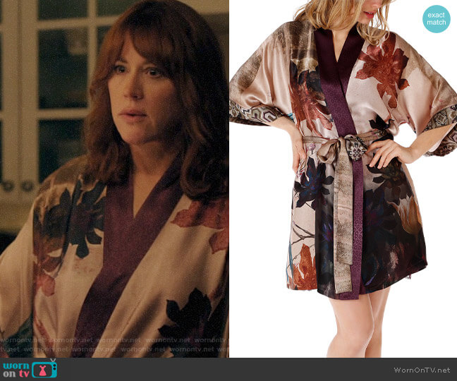 Christine Lingerie Short Phoenix Robe worn by Mary Andrews (Molly Ringwald) on Riverdale