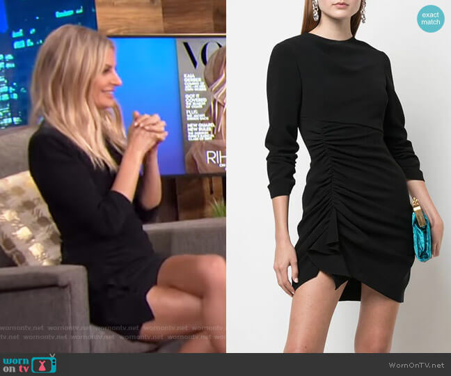 Crepe Natalia Dress by Cinq a Sept worn by Morgan Stewart  on E! News