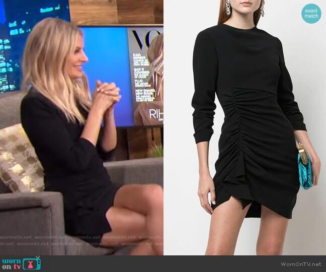 Crepe Natalia Dress by Cinq a Sept worn by Morgan Stewart  on E! News