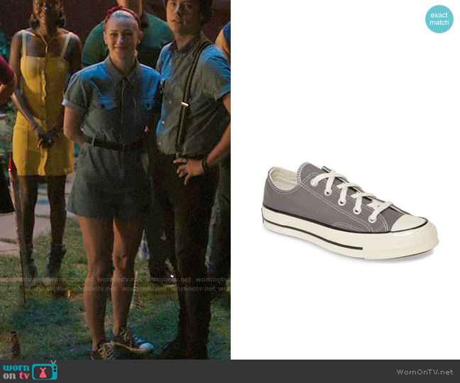 Converse Low Chuck Taylor Sneaker worn by Betty Cooper (Lili Reinhart) on Riverdale