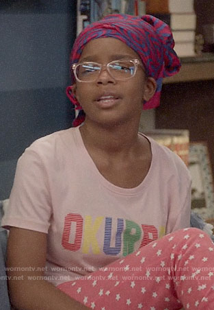 Diane's OKURRR t-shirt on Black-ish
