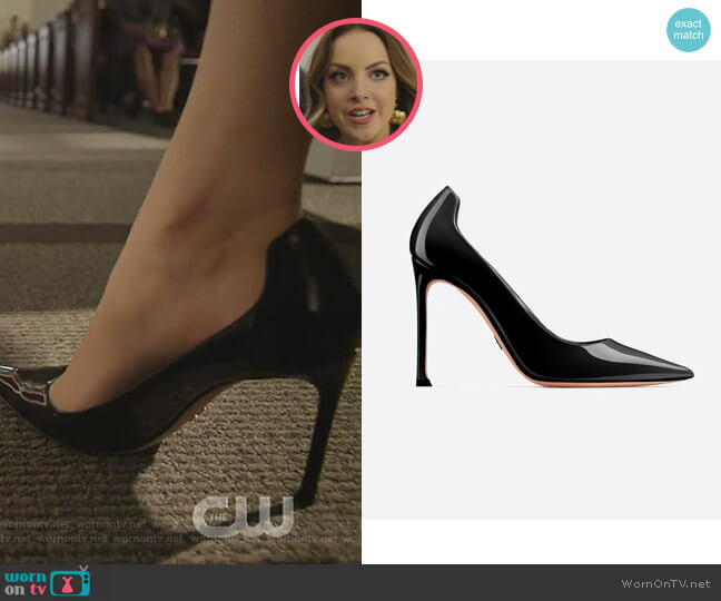 D-Moi Patent High-Heeled Shoe by Dior worn by Fallon Carrington (Elizabeth Gillies) on Dynasty