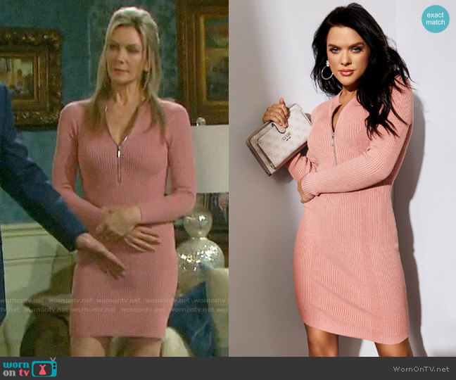 Guess Allison Dress worn by Kristen DiMera (Stacy Haiduk) on Days of our Lives