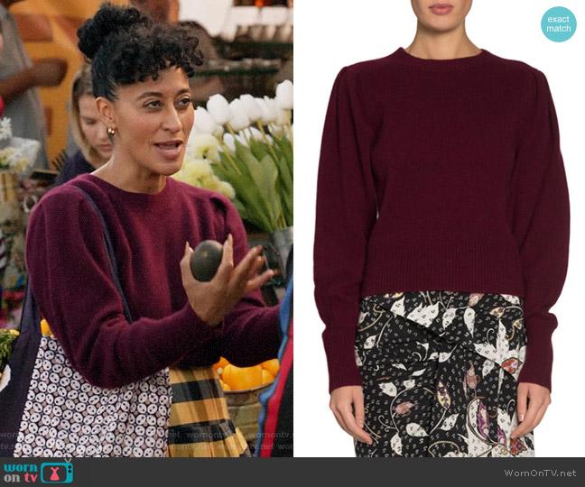 Isabel Marant Colroy Sweater worn by Rainbow Johnson (Tracee Ellis Ross) on Blackish