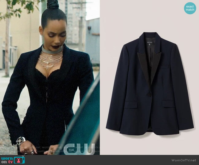 Judith & Charles Siena Blazer worn by Macy Vaughn (Madeleine Mantock) on Charmed