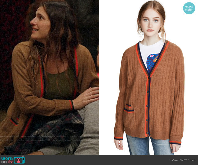 Kule The Cashmere Leon Cardigan worn by Rio (Lake Bell) on Bless This Mess