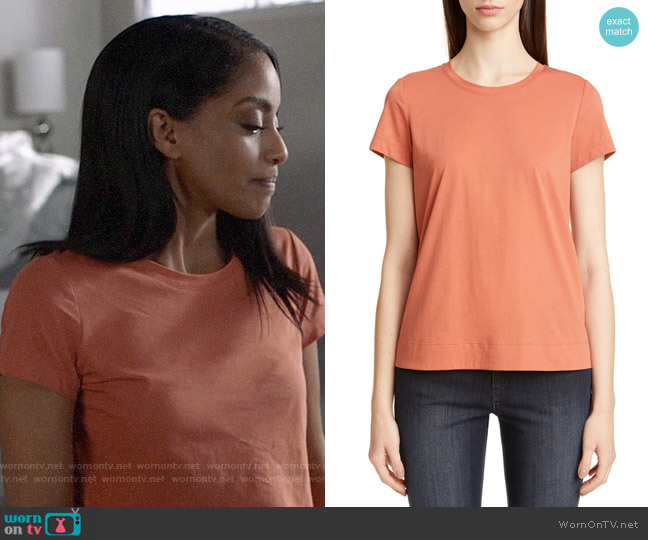 Lafayette 148 New York Kim Tee worn by Kelly Olsen (Azie Tesfai) on Supergirl