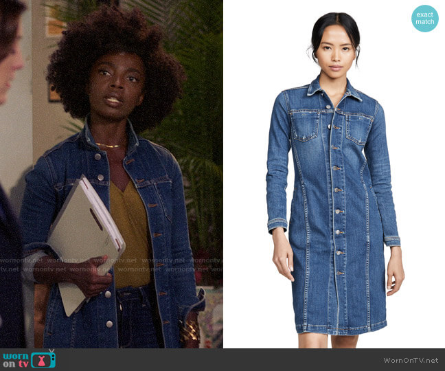 L'Agence The Vienna Jacket Dress worn by Briana Johnson (MaameYaa Boafo) on Bluff City Law