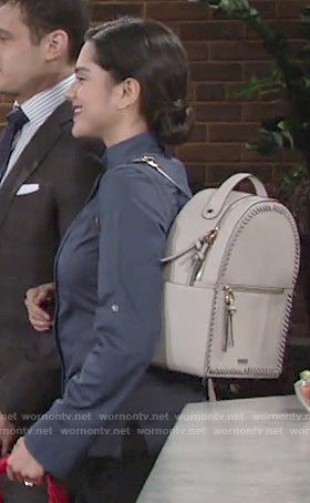 Lola's backpack on The Young and the Restless