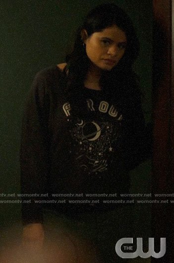 Mel's Far Out sweatshirt on Charmed