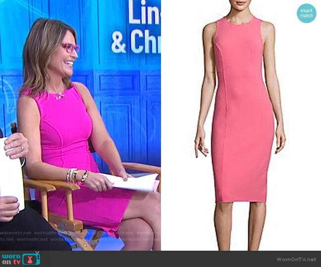 Sleeveless Dress by Michael Kors worn by Savannah Guthrie  on Today