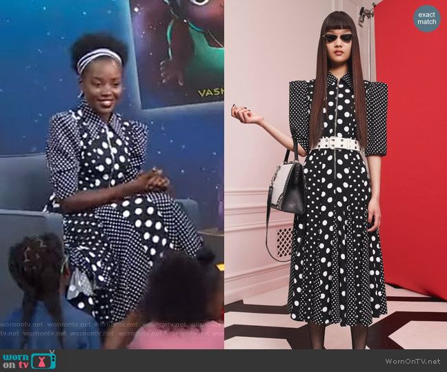 Resort Collection by Michael Kors worn by Lupita Nyong'o on GMA