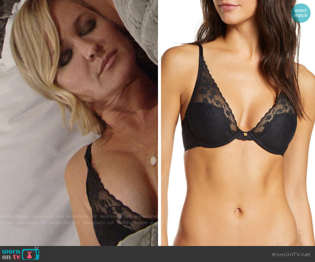 Natori Cherry Blossom Convertible Underwire Bra worn by Sharon Collins (Sharon Case) on The Young & the Restless