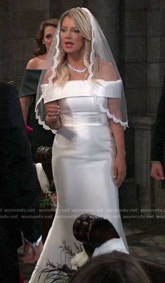 Nina's wedding dress on General Hospital