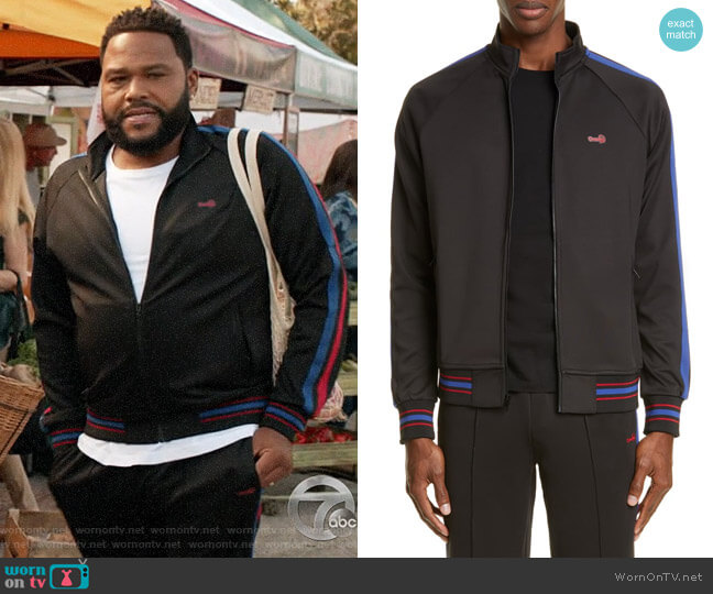 Ovadia & Sons Track Jacket worn by Andre Johnson (Anthony Anderson) on Blackish
