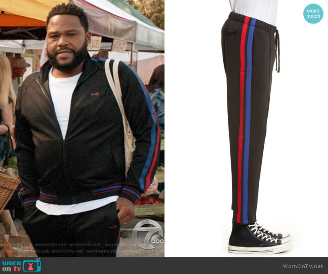 Ovadia & Sons Track Pants worn by Andre Johnson (Anthony Anderson) on Blackish