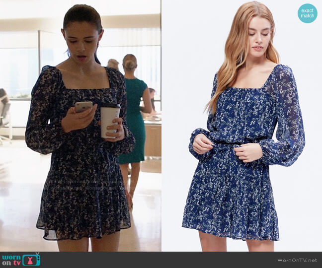 Paige Marjoram Dress worn by Nia Nal (Nicole Maines) on Supergirl