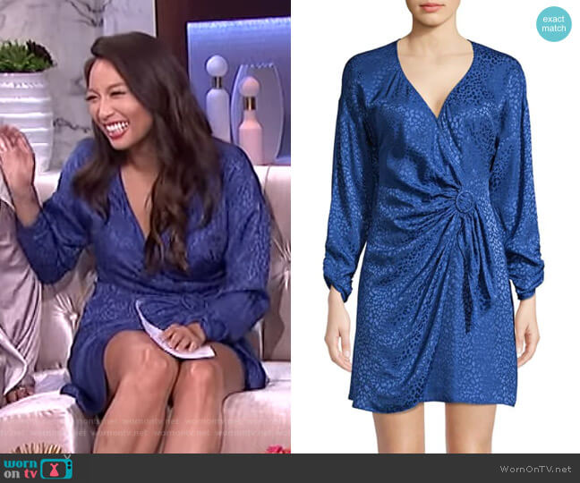 Linda Dress by Parker worn by Jeannie Mai  on The Real