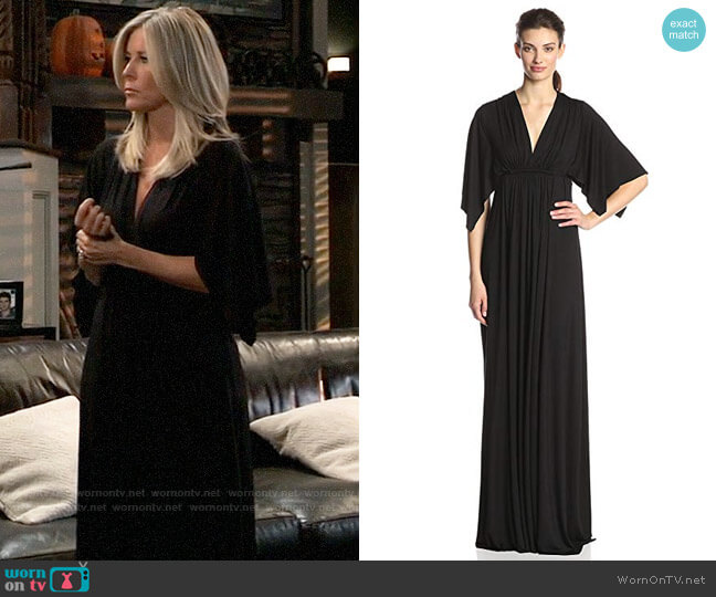 Rachel Pally Long Caftan Dress worn by Carly Corinthos (Laura Wright) on General Hospital