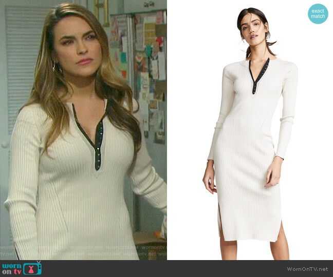 Rag & Bone Brynn Dress worn by Jordan Ridgeway (Chrishell Hartley) on Days of our Lives