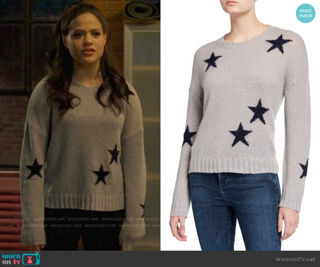 Rails Perci Star Sweater worn by Maggie Vera (Sarah Jeffery) on Charmed