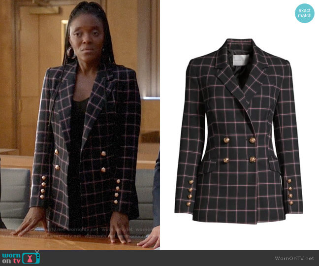 Rebecca Vallance Peta Jacket worn by Sadie on Bull