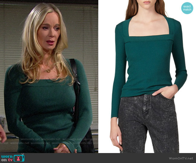 Sandro Molla Sweater worn by Donna Logan (Jennifer Gareis) on The Bold & the Beautiful