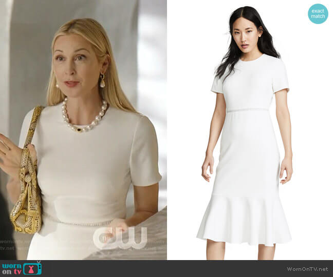 Ravello Dress by Shoshanna worn by Melissa Daniels (Kelly Rutherford) on Dynasty